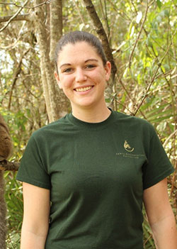 Caitlin Kenney, Zoological Manager, LCF