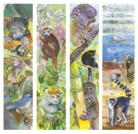 Santore lemur bookmarks