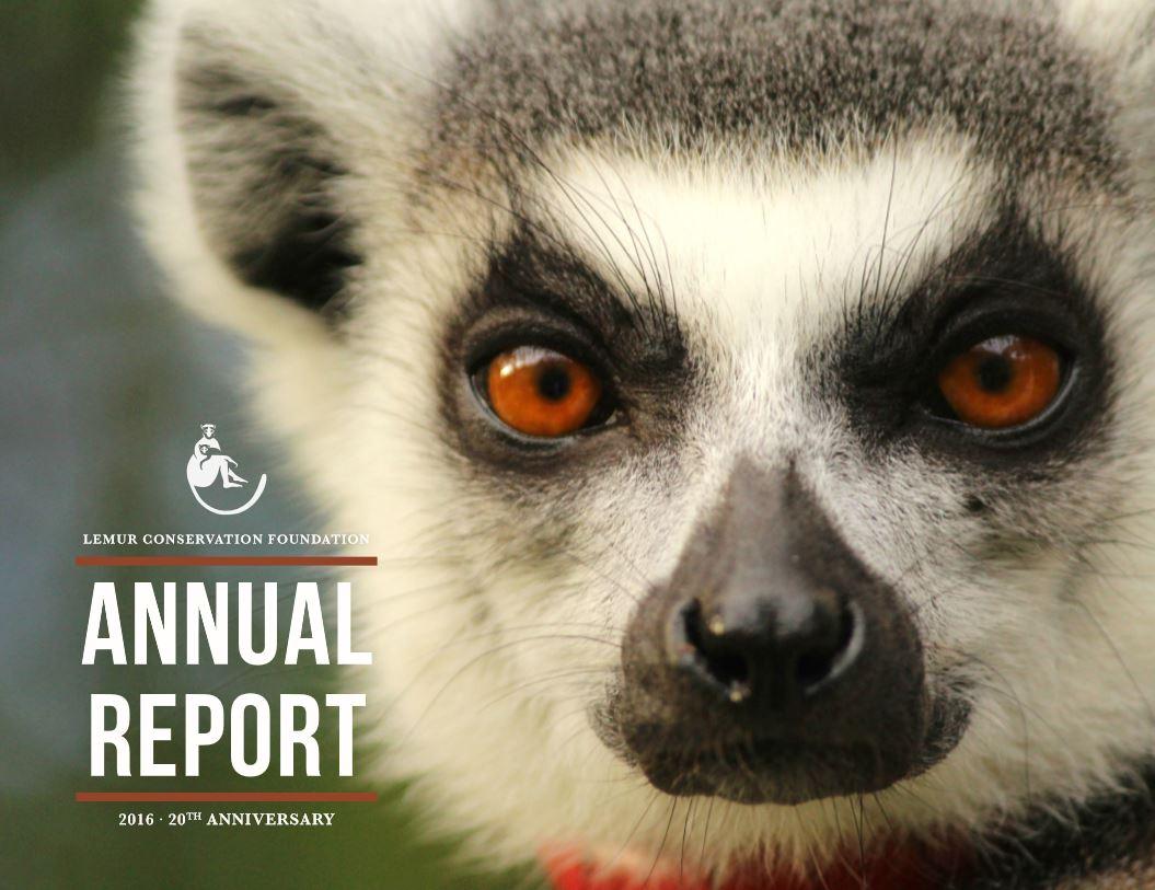 2016 LCF Annual Report Cover
