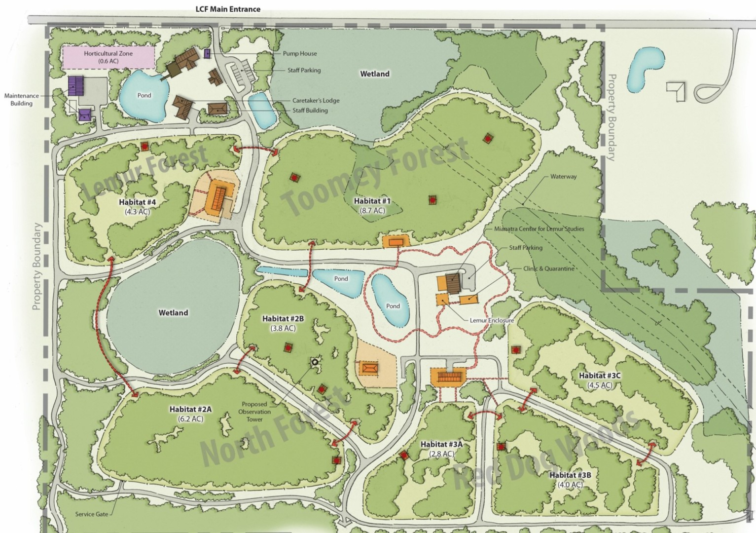 Myakka City Florida Map.Myakka City Lemur Reserve The Lemur Conservation Foundation