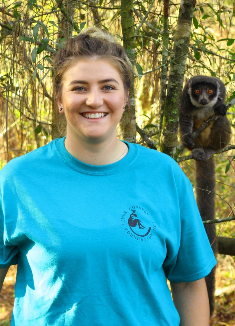 Senior Lemur Keeper Lauren Arshakuni