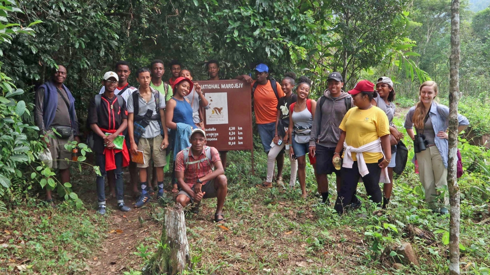 Rainforest class trip films debut at LCF 2019 World Lemur Festival
