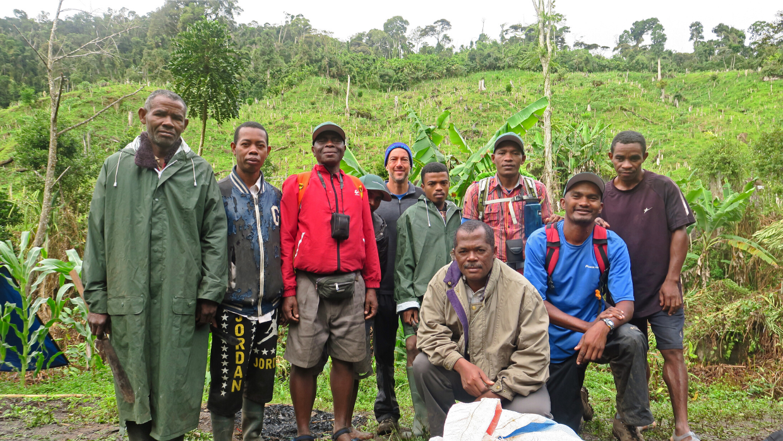 LCF's Antohakalava Forest field survey team