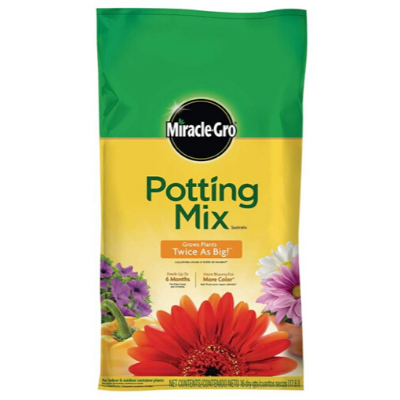 Potting soil for container gardening from LCF's Amazon Sustainability Wish List