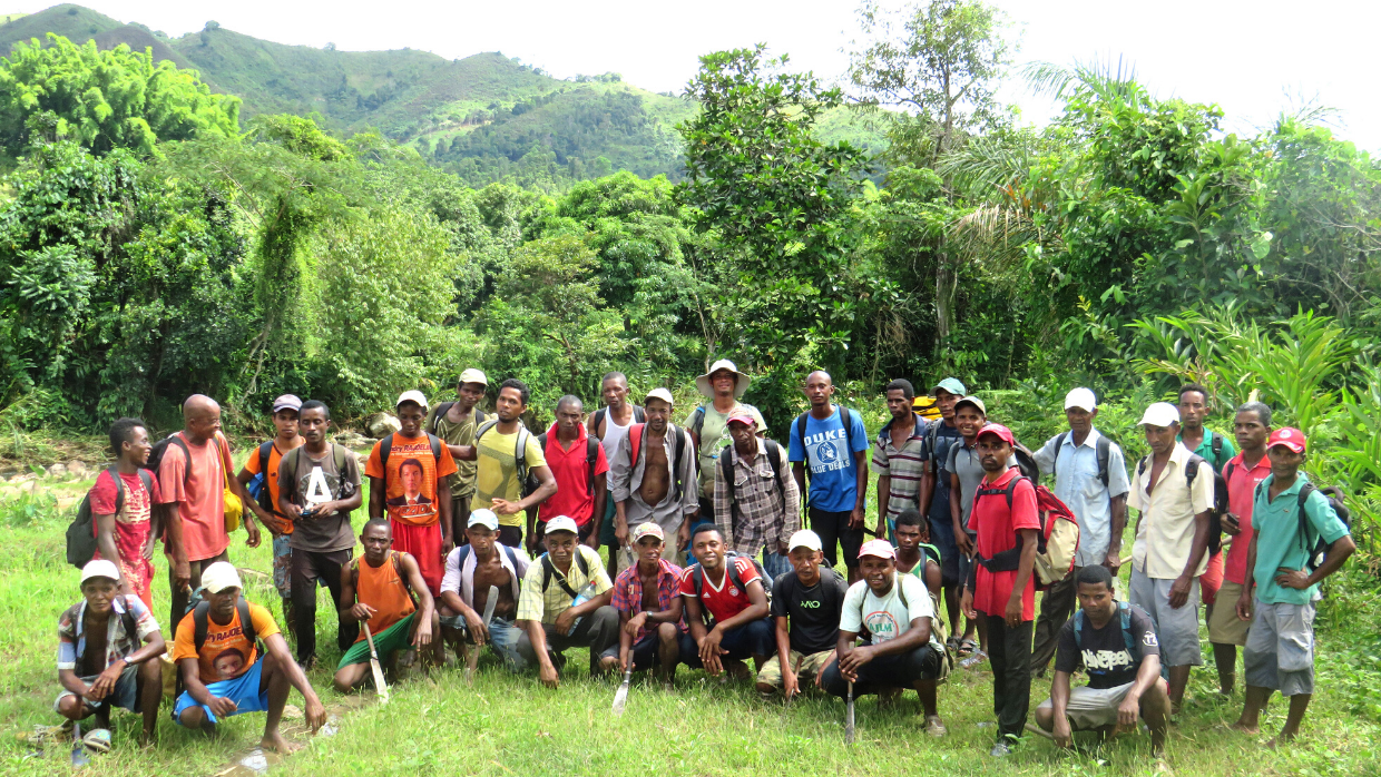 LCF's forest monitoring team in Madagascar