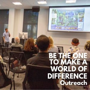 Be The One to Make a World of Difference by supporting LCF Outreach programs