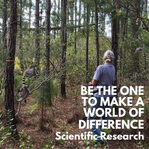 Be The One to Make a World of Difference by Supporting Scientific Research