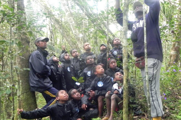 An LCF-sponsored classroom trip to the rainforest.