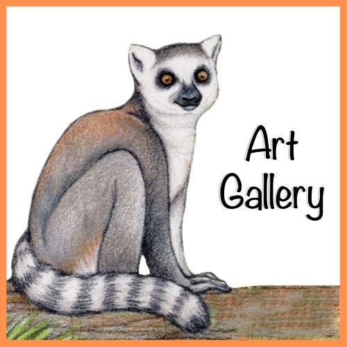 LCF World Lemur Festival 2021 Art Gallery
